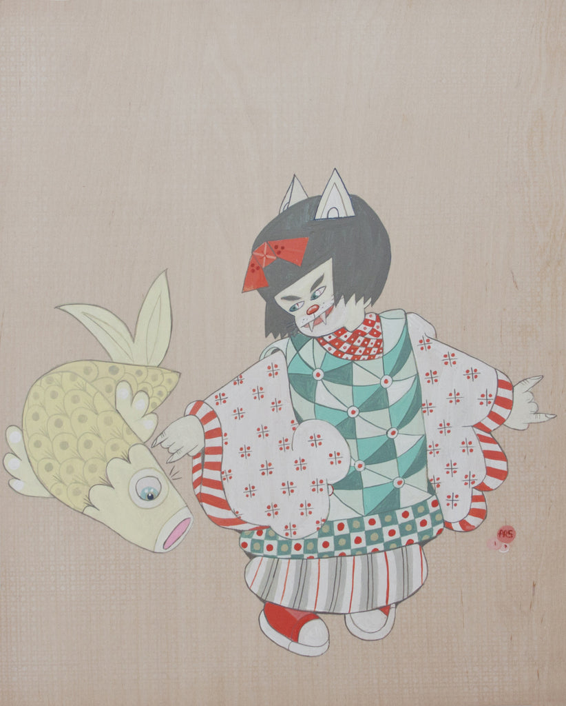 "Ferris Plock - ""cat koi"" - Spoke Art"
