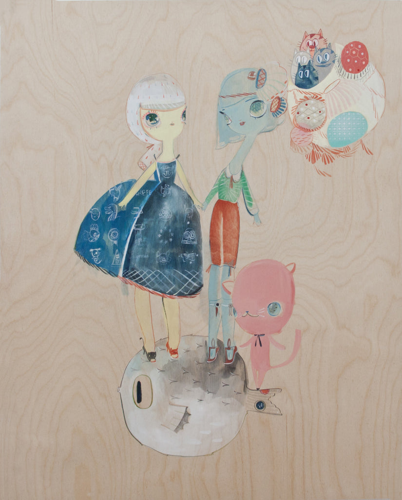 "Kelly Tunstall + Ferris Plock - ""fugu"" - Spoke Art"