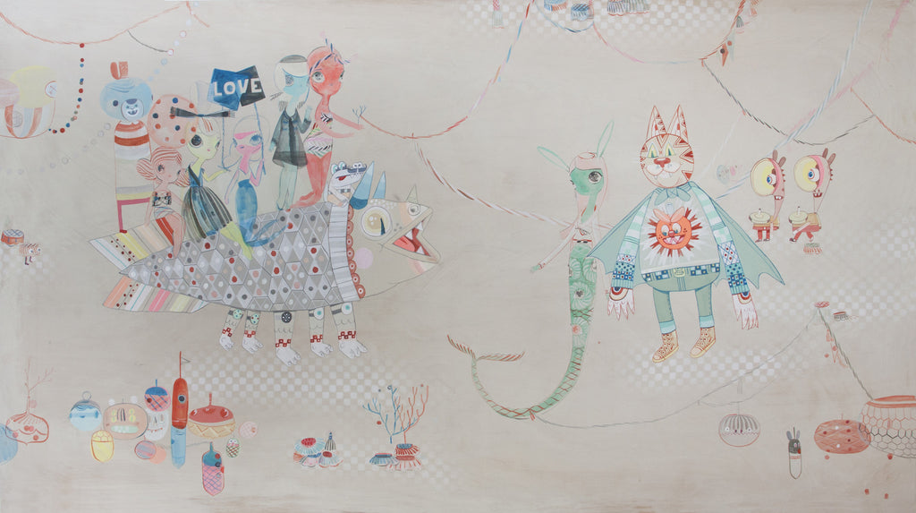 "Kelly Tunstall + Ferris Plock - ""closer #2"" - Spoke Art"