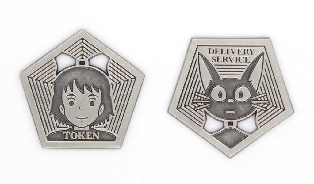 "Bruce Yan - ""Delivery Service"" Nickel Token - Spoke Art"