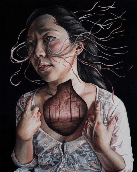 "Michelle Avery Konczyk ""In My Chest"" - Spoke Art"