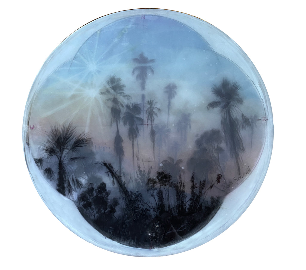 "Brooks Salzwedel - ""LA Palm Tree Rapture"" - Spoke Art"