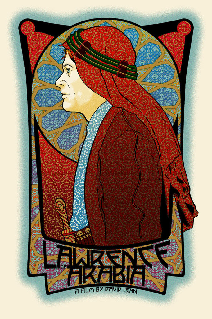 "Chuck Sperry - ""Lawrence of Arabia"" - Spoke Art"