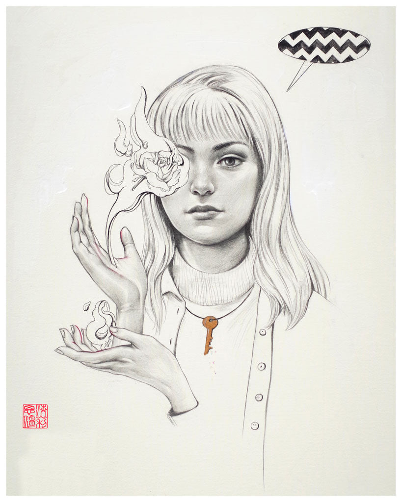"Helice Wen - ""Laura"" (print) - Spoke Art"