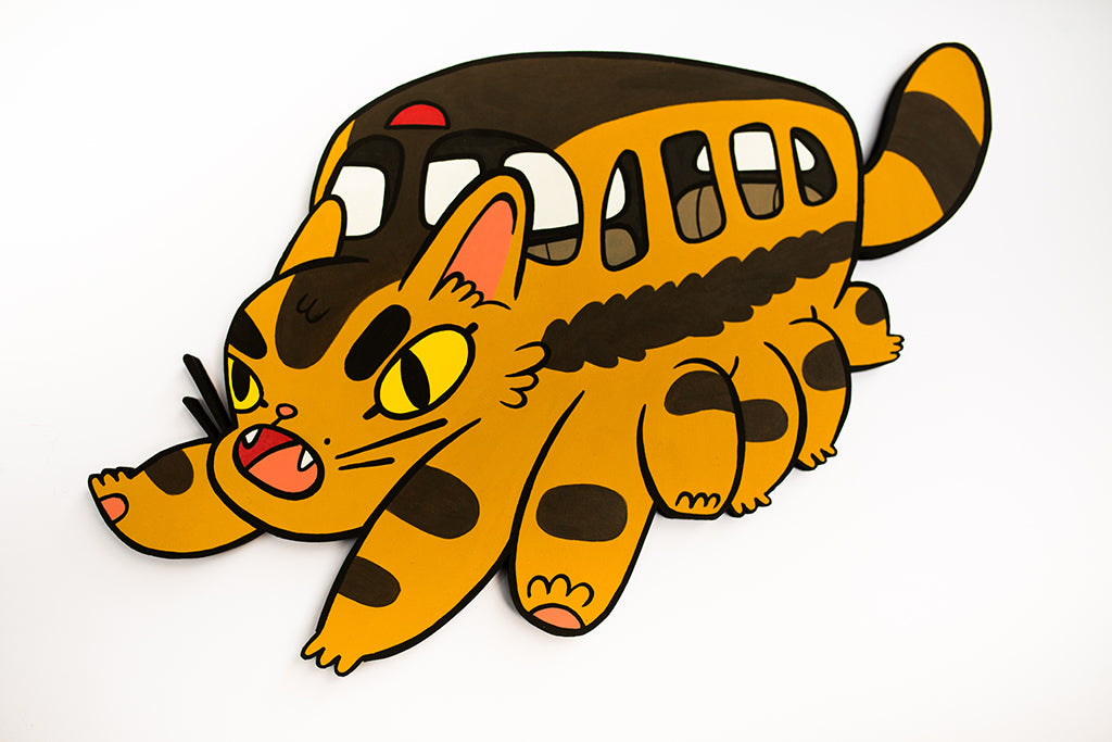 "Lauren Gregg - ""Catbus"" - Spoke Art"