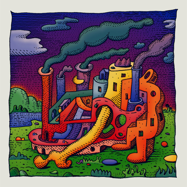 "David Welker - ""Limb Factory"" print - Spoke Art"