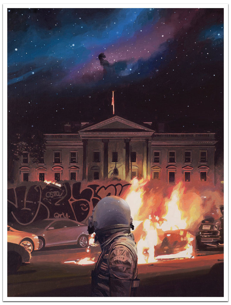 "Scott Listfield - ""White House"" Print - Spoke Art"