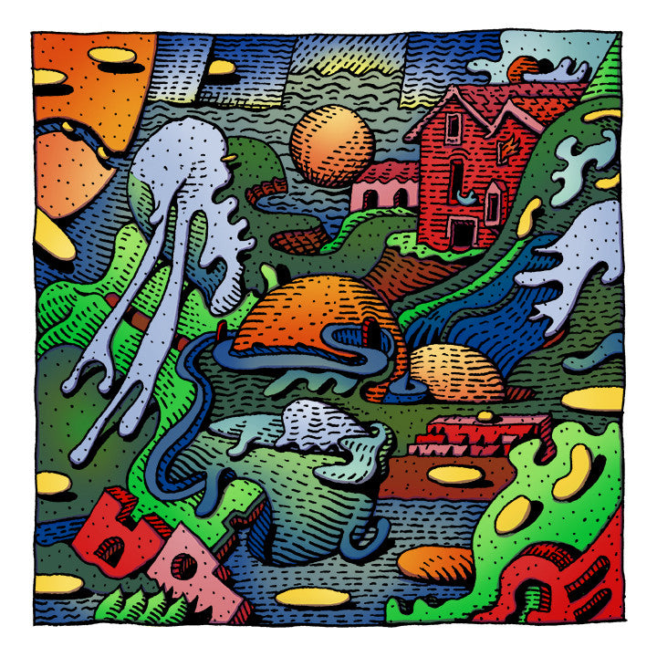 "David Welker - ""Lithosphere"" print - Spoke Art"