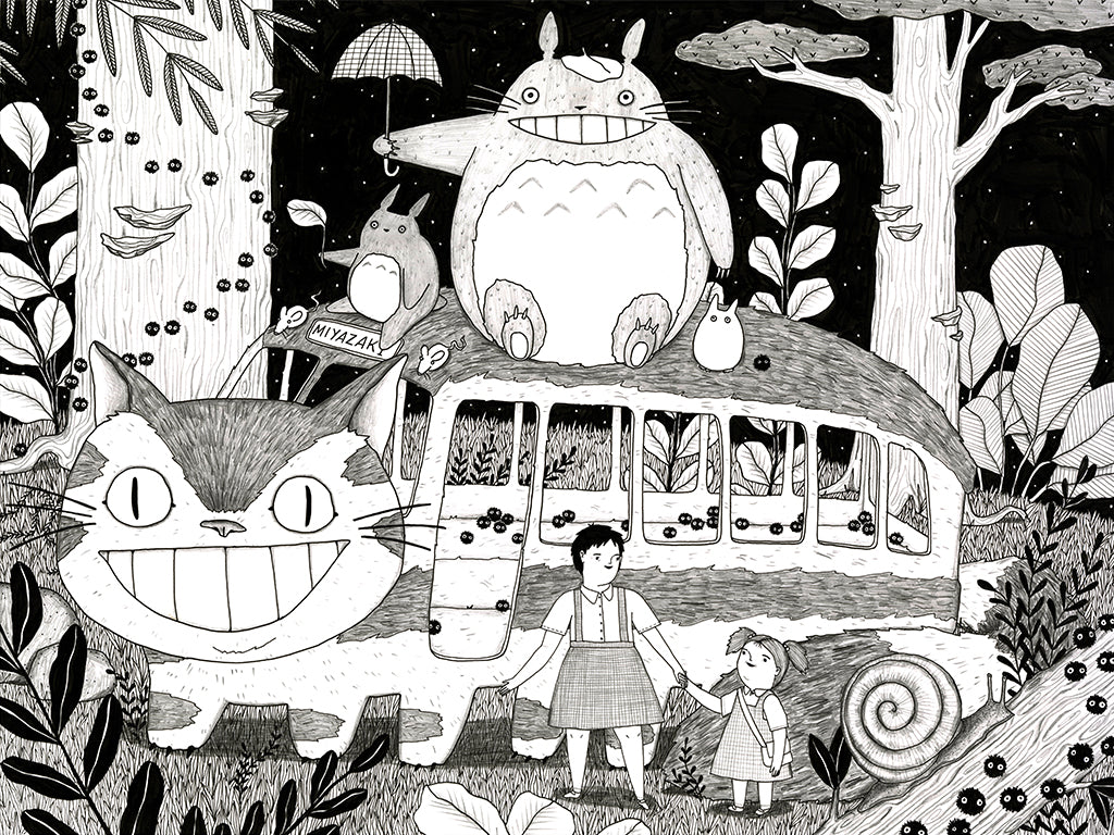 "Mai Ly Degnan - ""Catbus"" - Spoke Art"