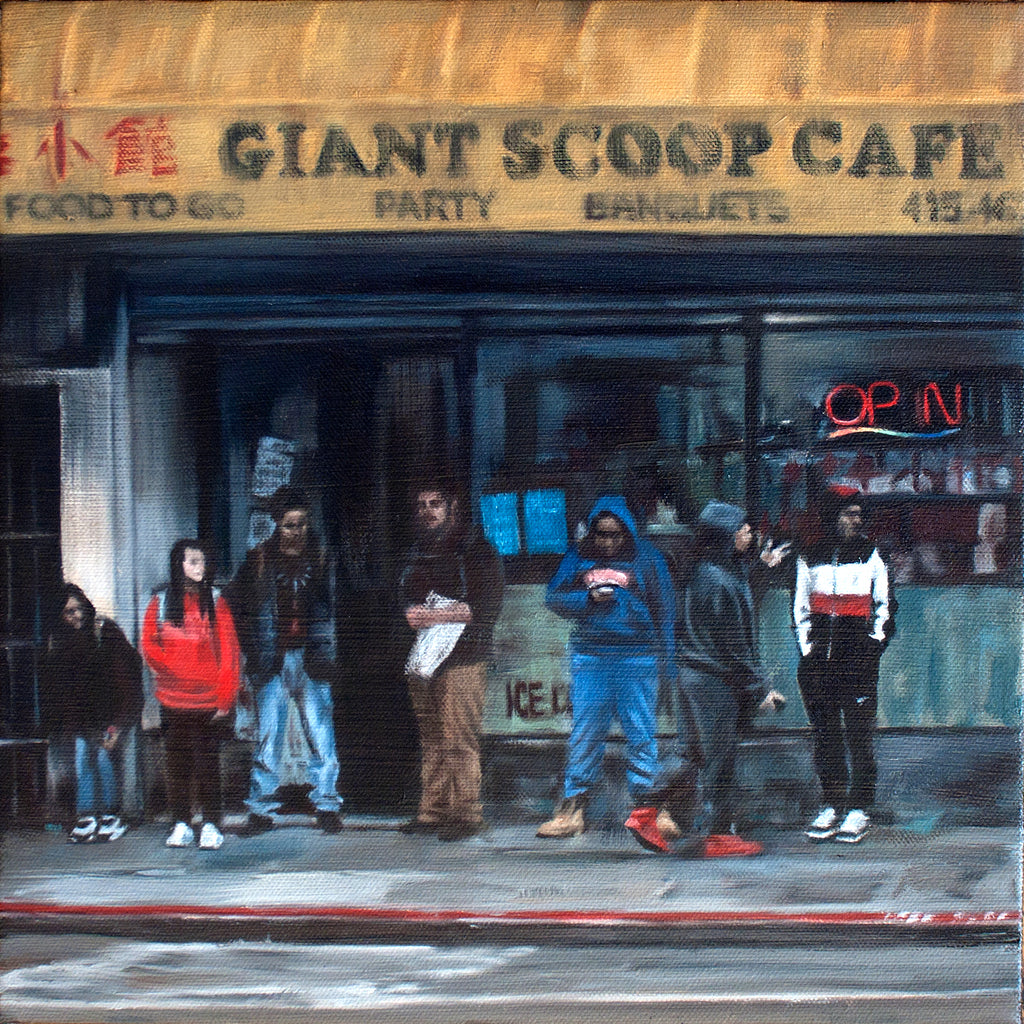 "Ryan Malley - ""Giant Scoop"" - Spoke Art"