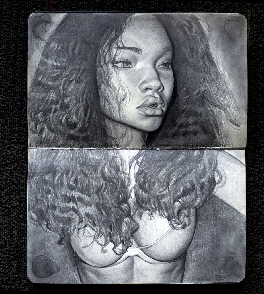 "Marco Nelor - ""A portrait study of Ashley"""