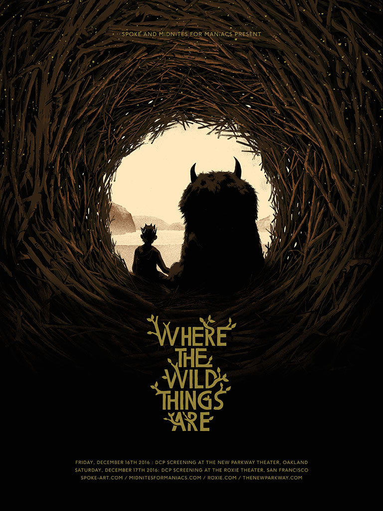 matt taylor where the wild things are spoke art