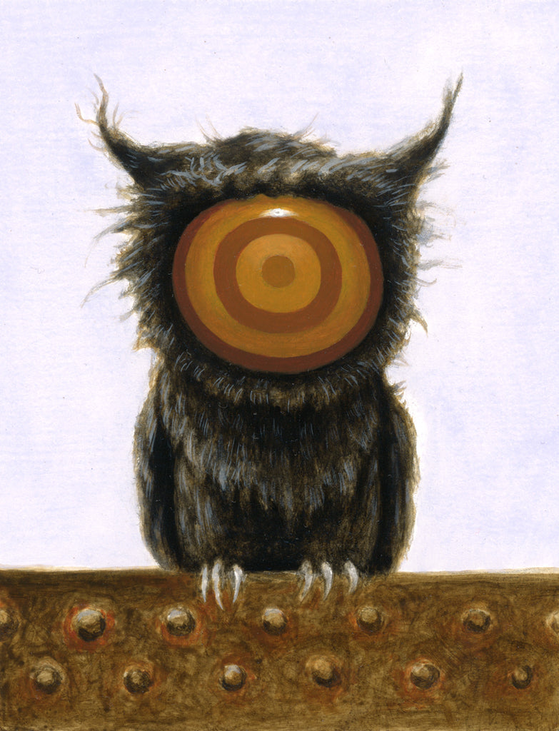 "Matt Dangler - ""The Messenger 3 (Black Owl)"""