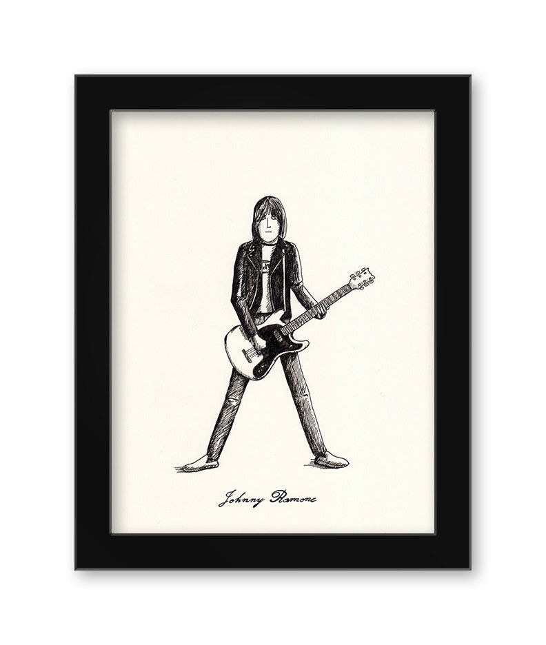 "Max Dalton - ""Johnny Ramone"""