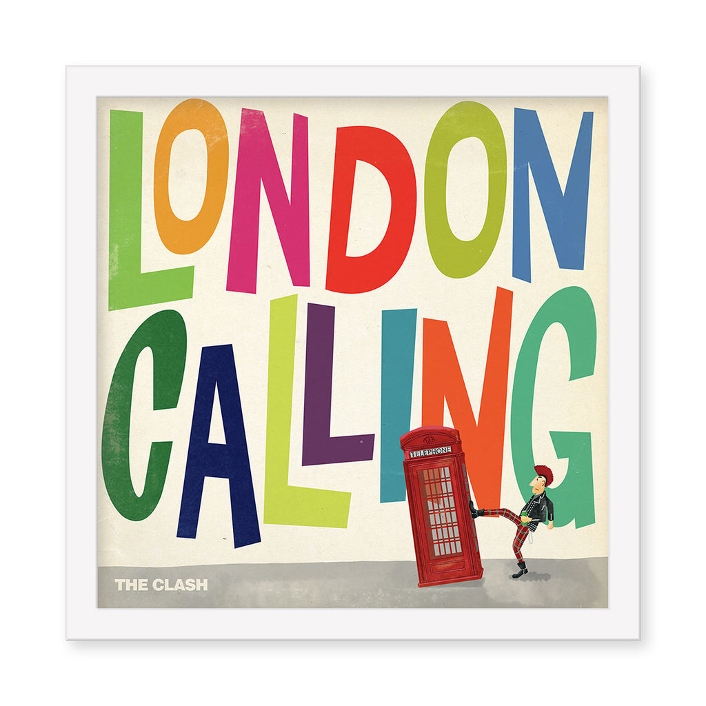 "Max Dalton - ""The Clash: London Calling"" - Spoke Art"
