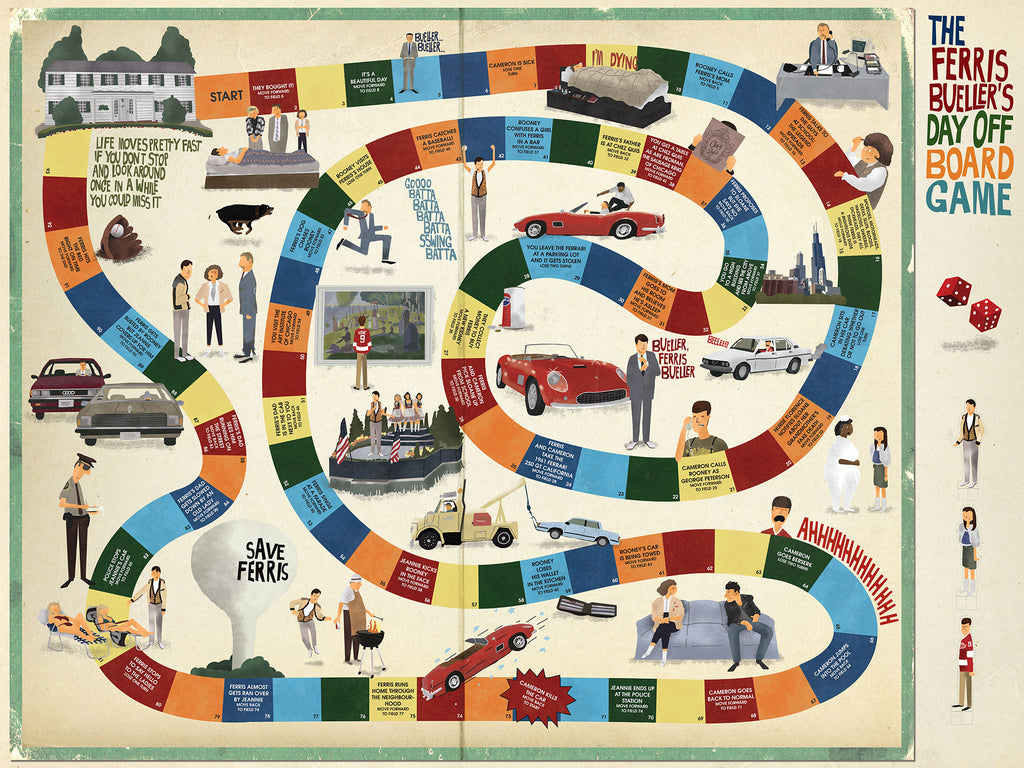 "Max Dalton - ""The Ferris Bueller's Day Off Board Game"""