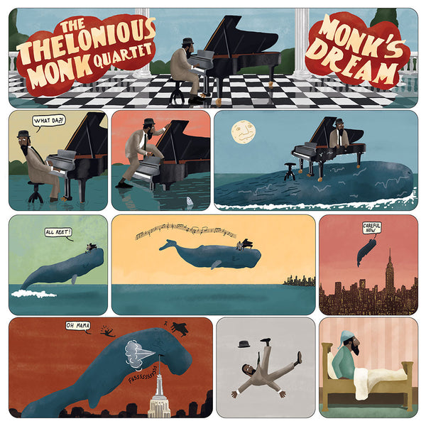 "Max Dalton - ""The Thelonious Monk Quartet: Monk's Dream"""