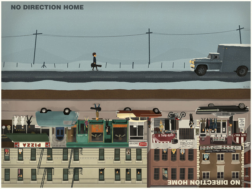 "Max Dalton - ""No Direction Home"" - Spoke Art"