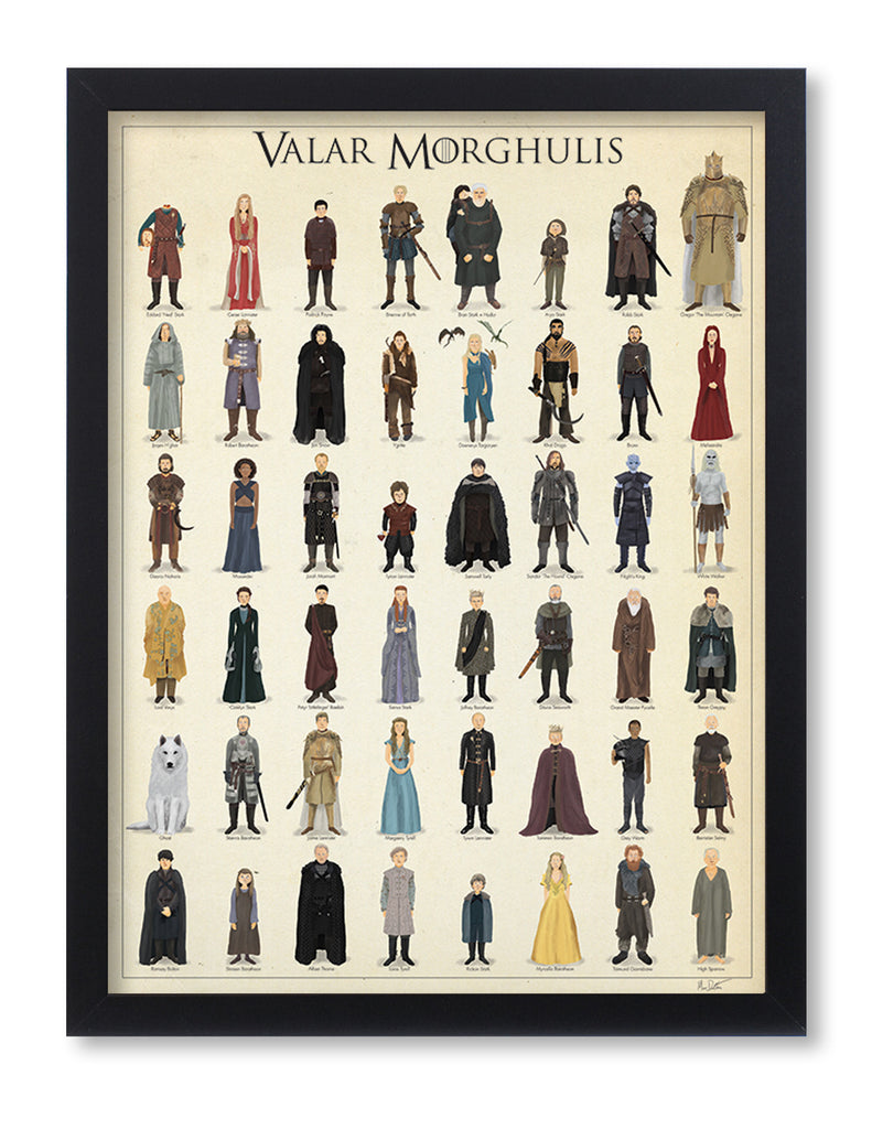 "Max Dalton - ""Valar Morghulis"" - Spoke Art"
