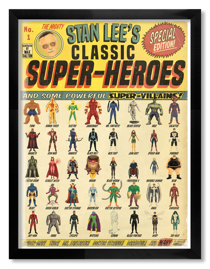 "Max Dalton - ""Stan Lee's Classic Super Heroes"" - Spoke Art"