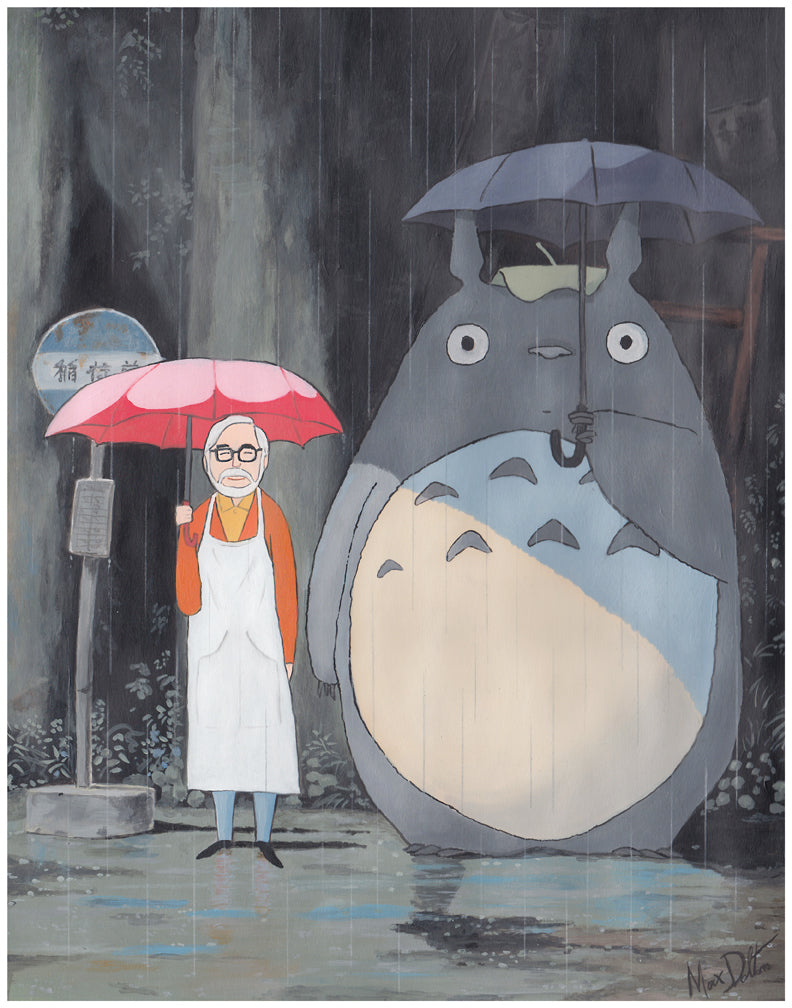 "Max Dalton - ""My Neighbor Hayao"" (print)"