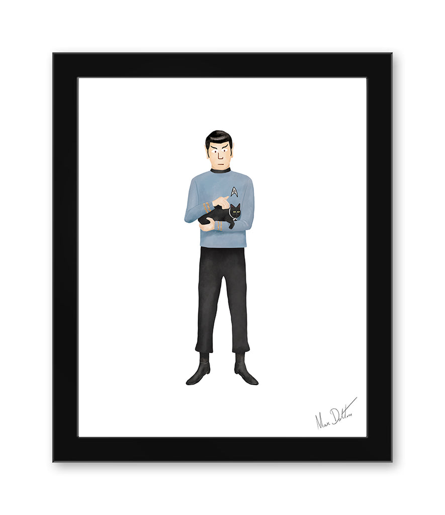 "Max Dalton - ""Star Trek"" - Spoke Art"