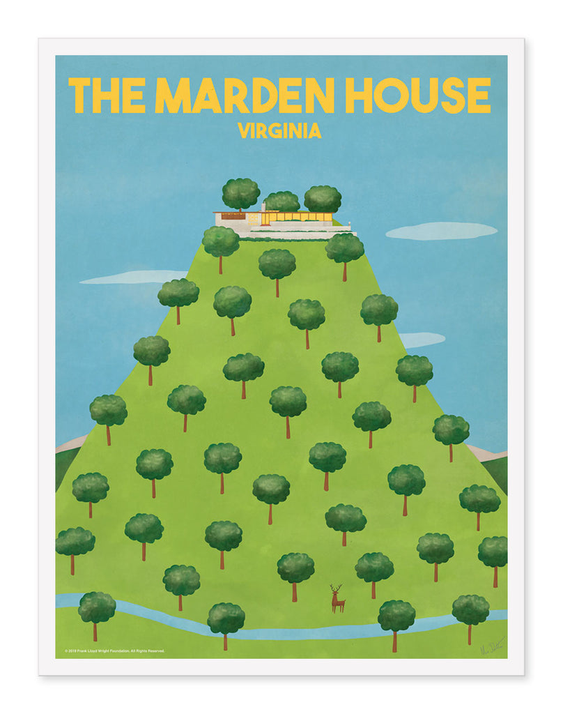 "Max Dalton - ""The Marden House"" - Spoke Art"