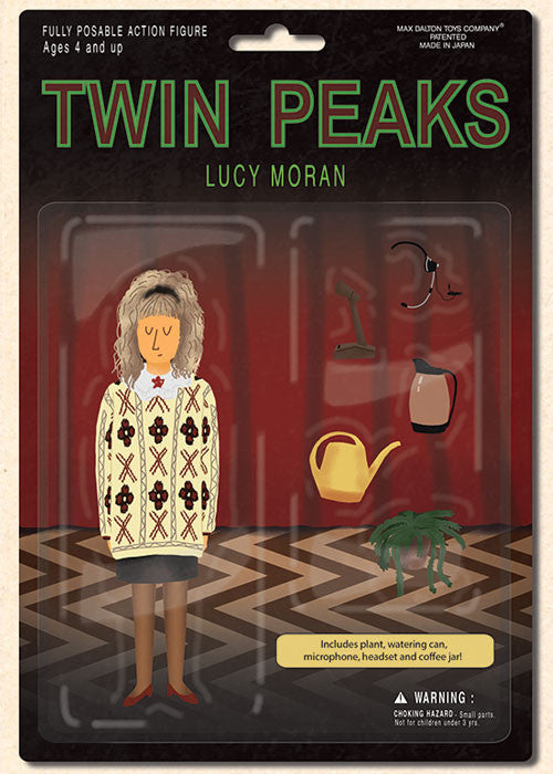 "Max Dalton - ""Twin Peaks Action Figure Collection"" - Spoke Art"