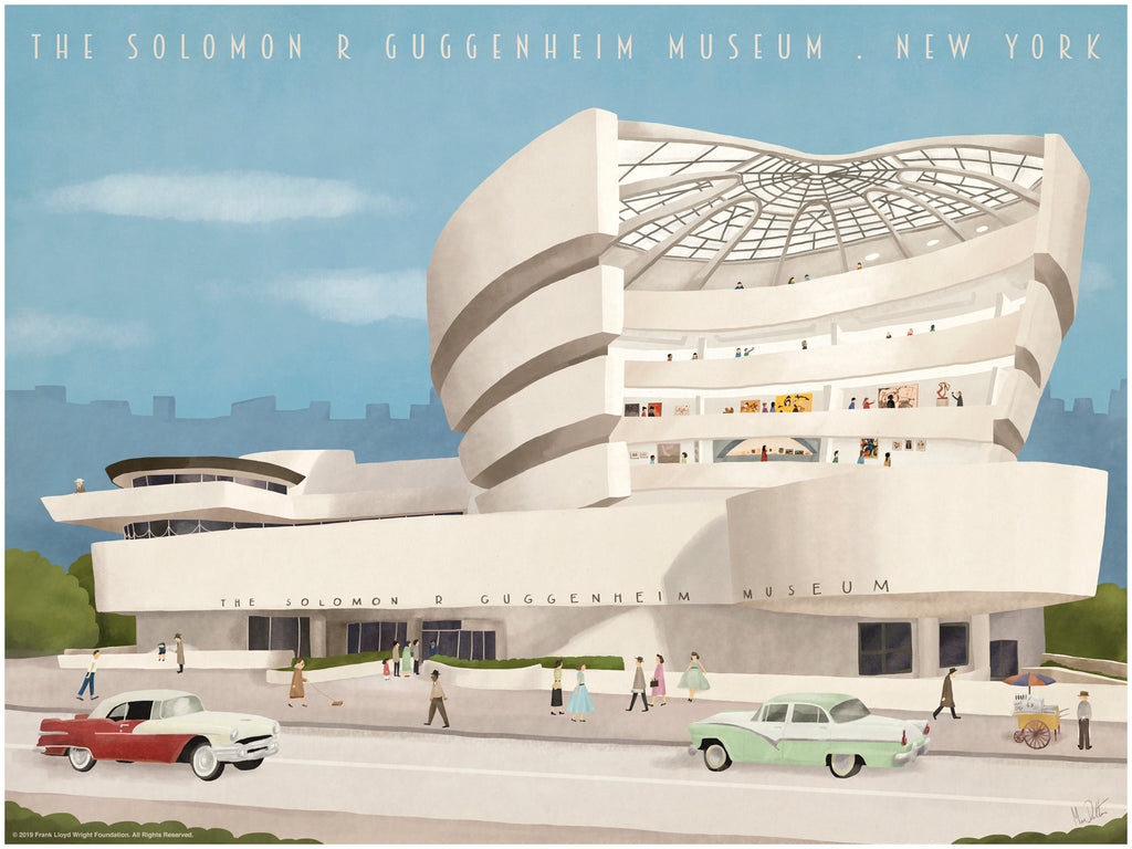 "Max Dalton - ""Guggenheim"" - Spoke Art"
