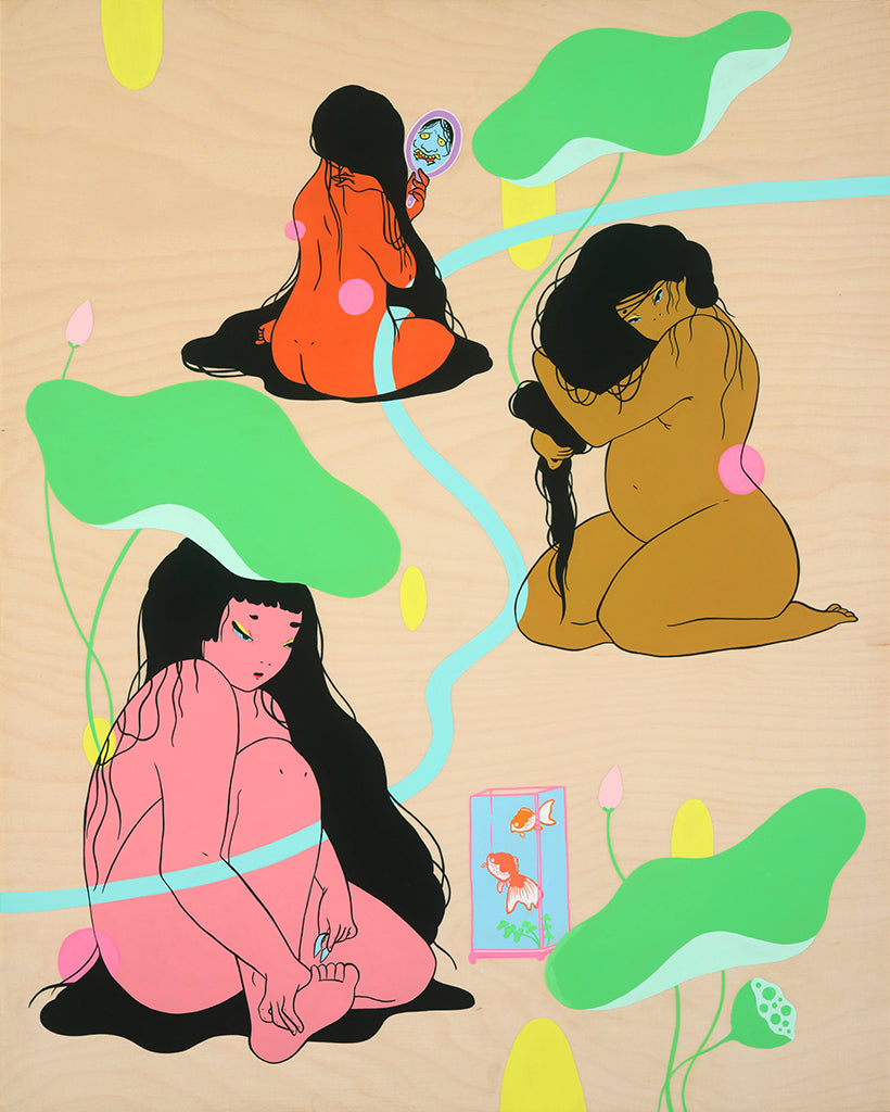 "Maya Fuji - ""Grooming Ritual"" - Spoke Art"