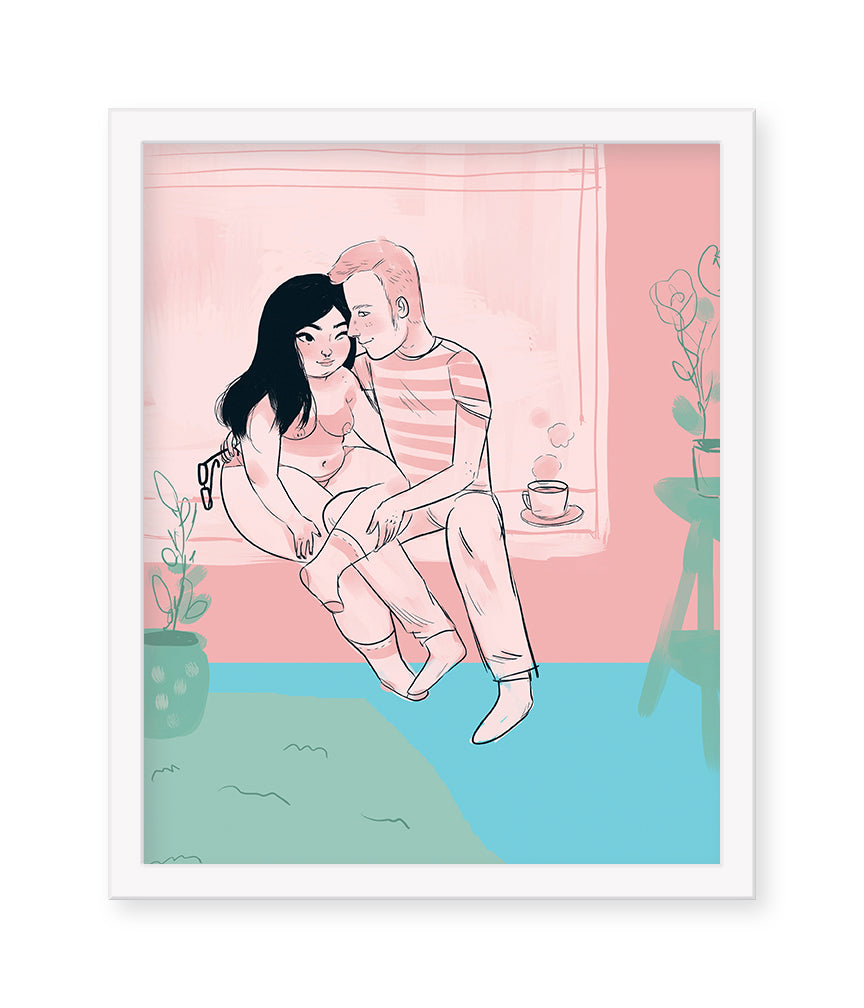 "Mel Stringer - ""LDR LOVERS"" Print - Spoke Art"