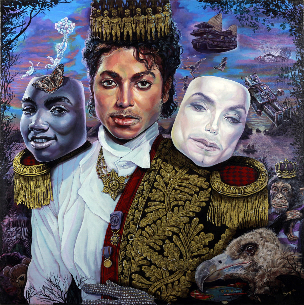 """Michael Jackson, Imagination"""