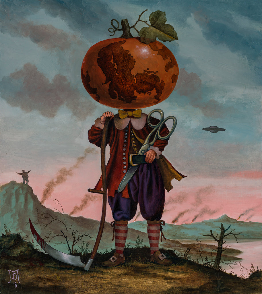"Mike Davis - ""The Orange Menace"" - Spoke Art"