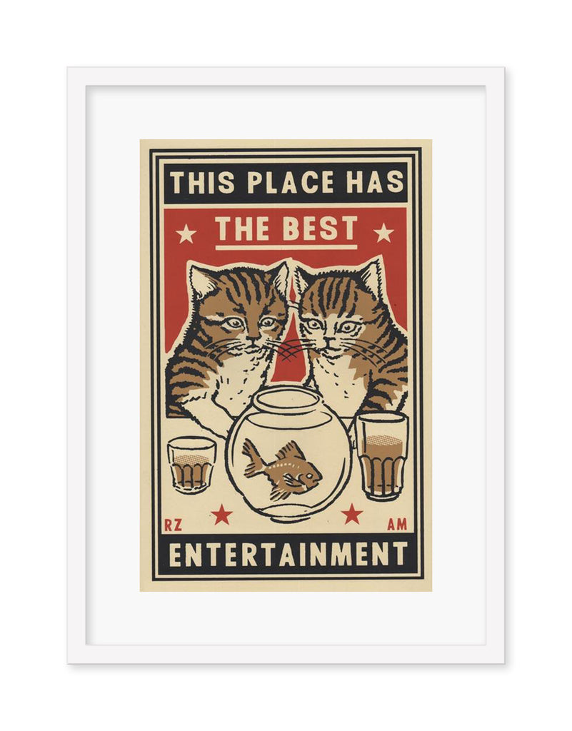 "Arna Miller & Ravi Zupa - ""Entertainment"" - Spoke Art"