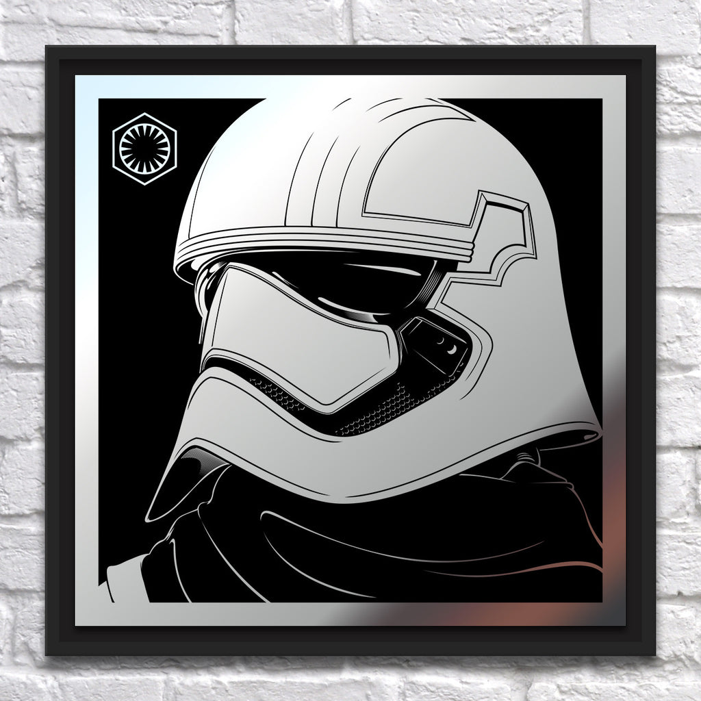 "Joshua Budich - ""Captain Phasma"" - Mirror Steel - Spoke Art"