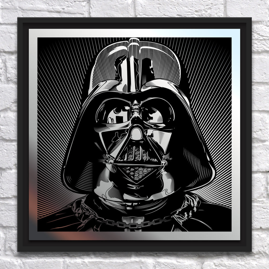 "Joshua Budich - ""Darth Vader"" - Mirror Steel - Spoke Art"