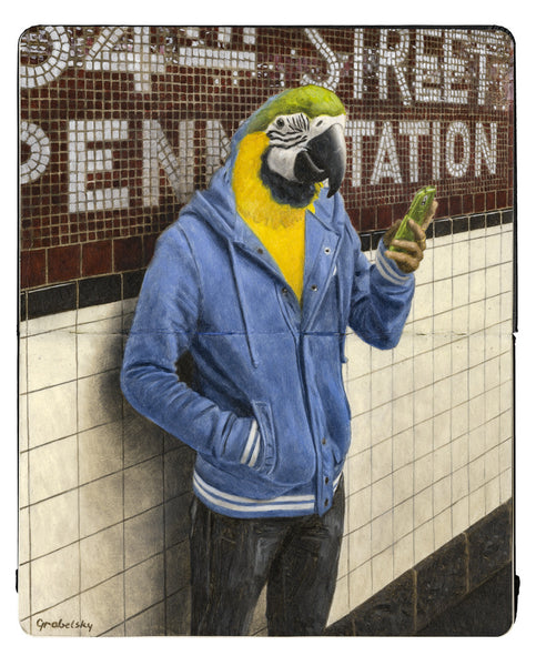 "Matthew Grabelsky - ""Waiting for the 1 Train"""