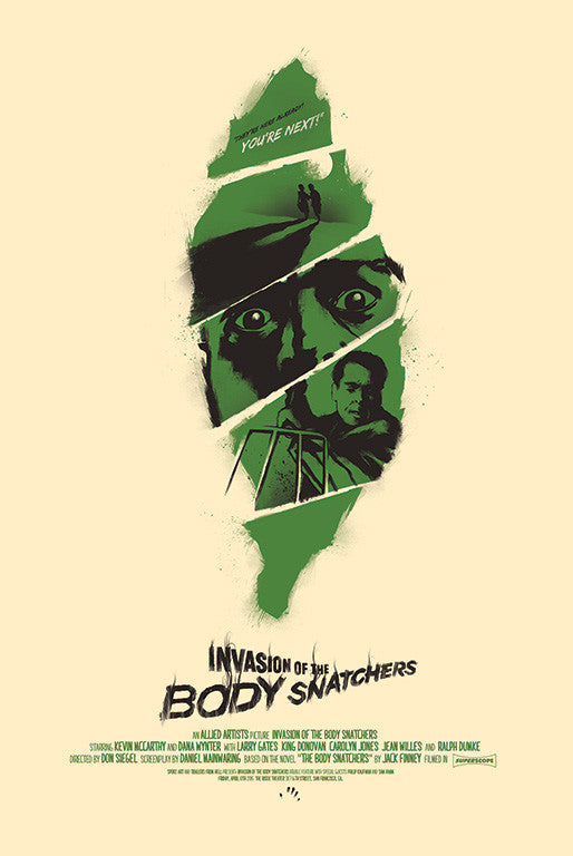 "David Moscati - ""Invasion of the Body Snatchers 1956"" - Spoke Art"