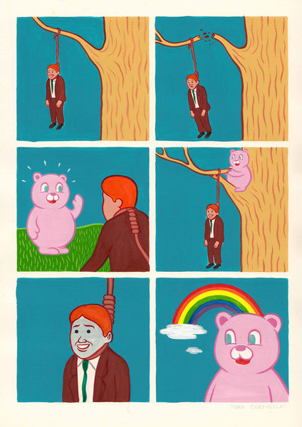 "Joan Cornellà - ""Mr. Rainbow"""