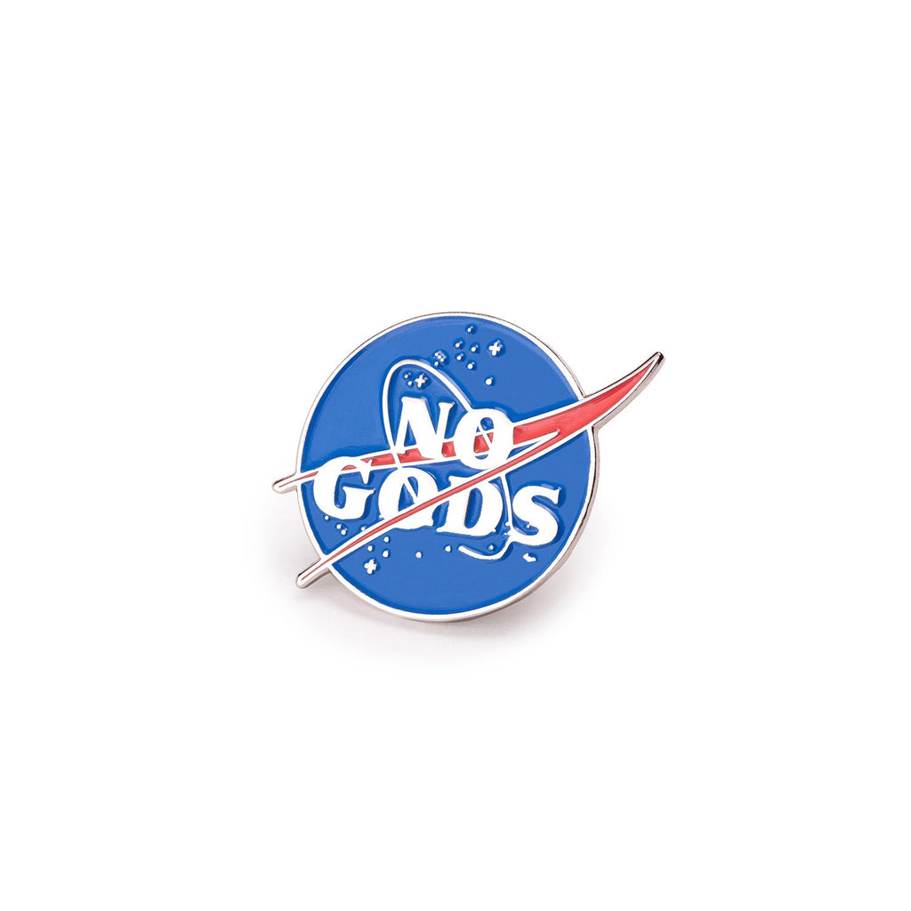 No Gods Pin - Spoke Art