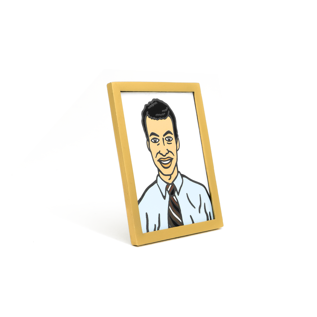 Employee of the Month Enamel Pin - Spoke Art