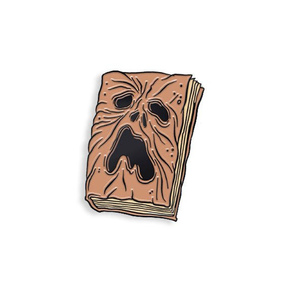 Necronomicon Enamel Pin By Alex Pardee - Spoke Art