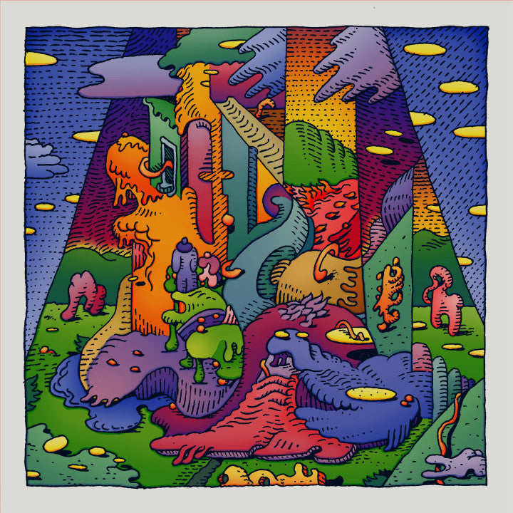 "David Welker - ""New Neighbors"" print - Spoke Art"