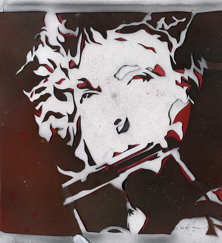 "Nick Comparone - ""Desolation Row Stencil"""