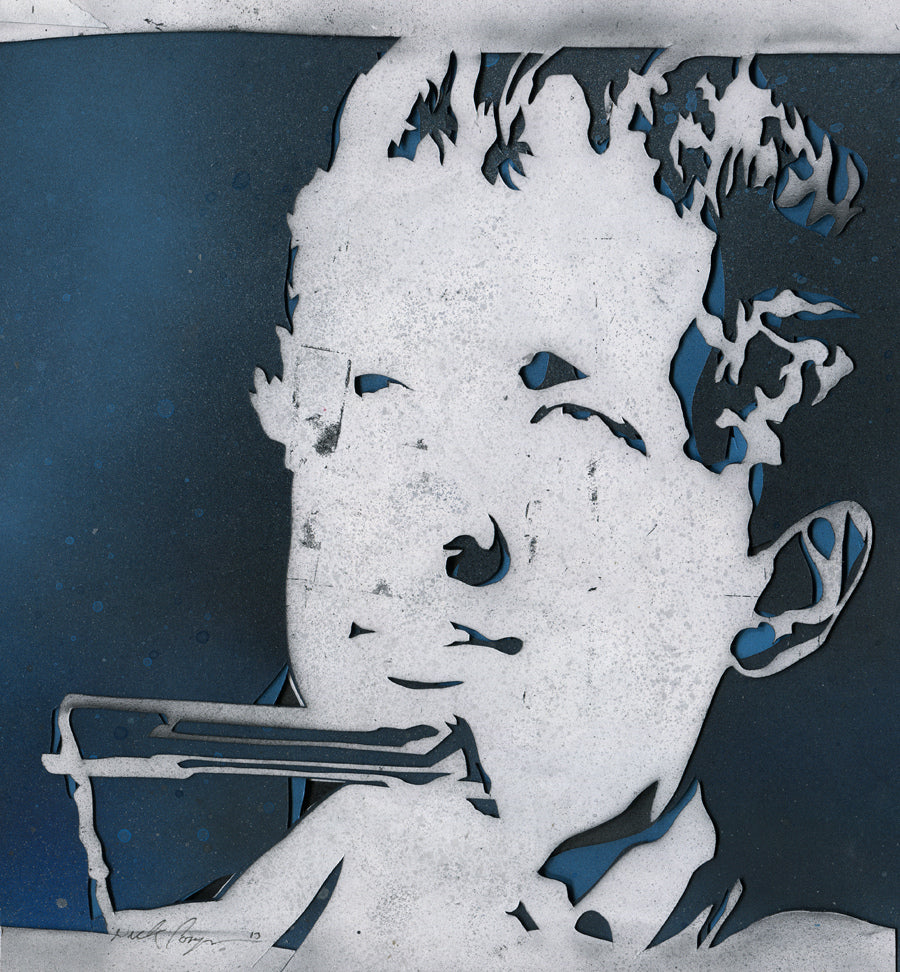 "Nick Comparone - ""Blowin in the Wind Stencil"" - Spoke Art"