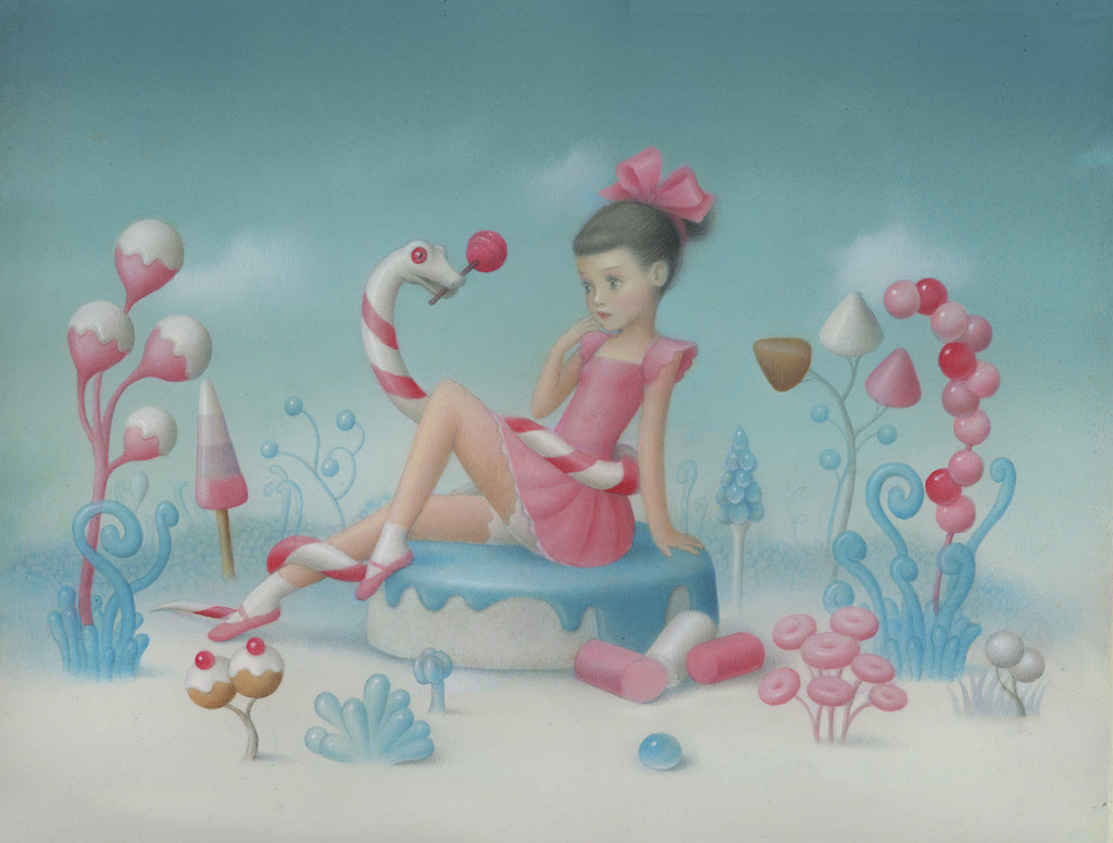 "Nicoletta Ceccoli - ""Forbidden Fruit"" - Spoke Art"