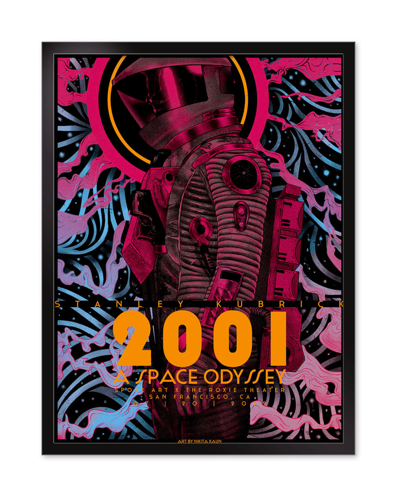 "Nikita Kaun - ""2001: A Space Odyssey"" - Spoke Art"