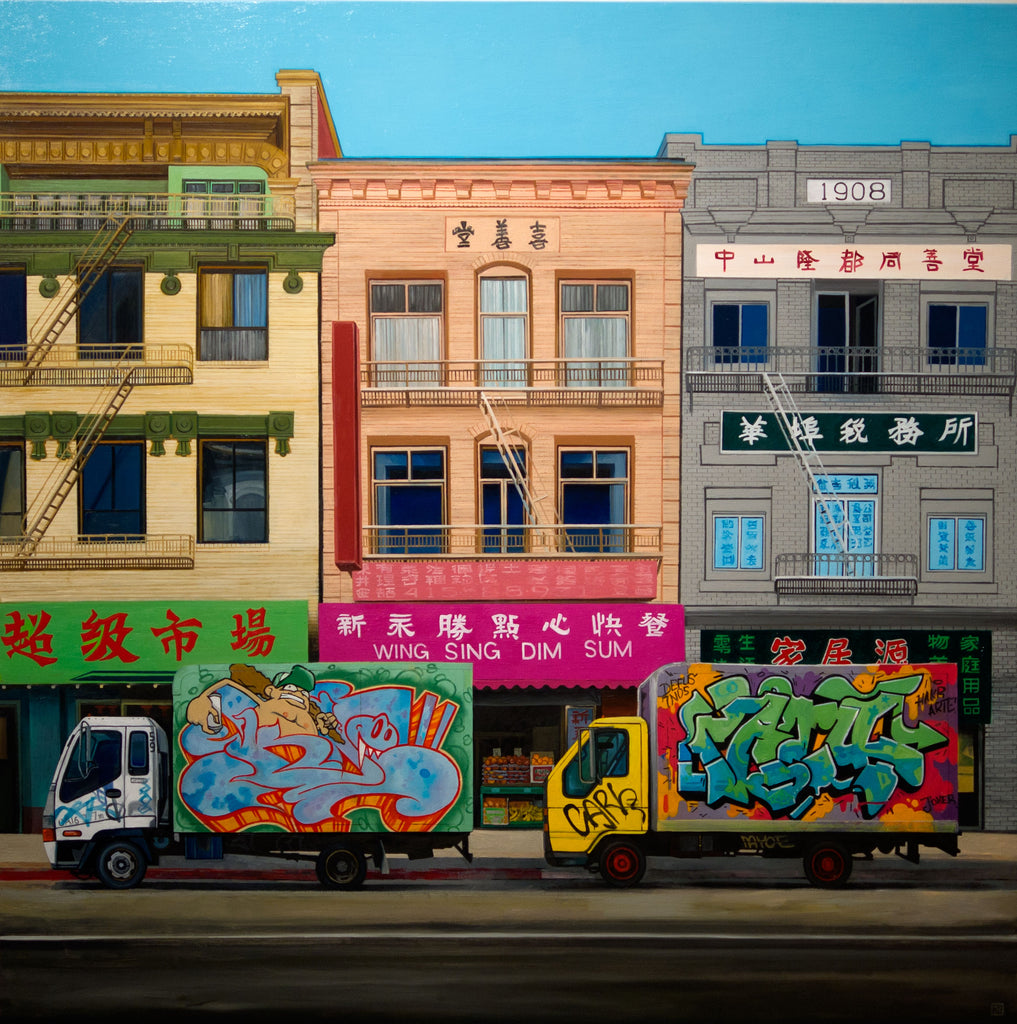 "Jessica Hess - ""Chinatown Delivery"" - Spoke Art"