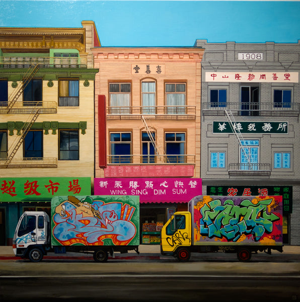 "Jessica Hess - ""Chinatown Delivery"""