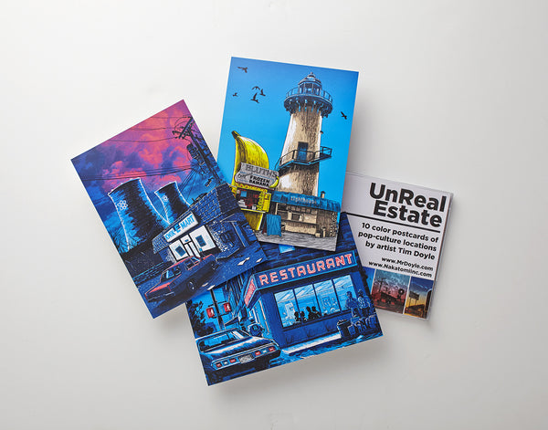 Tim Doyle - UnReal Estate Postcards Series 1